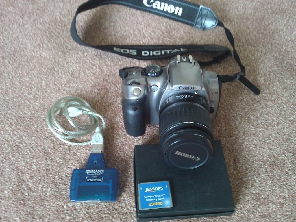 Canon EOS 300D Digital SLR Camera