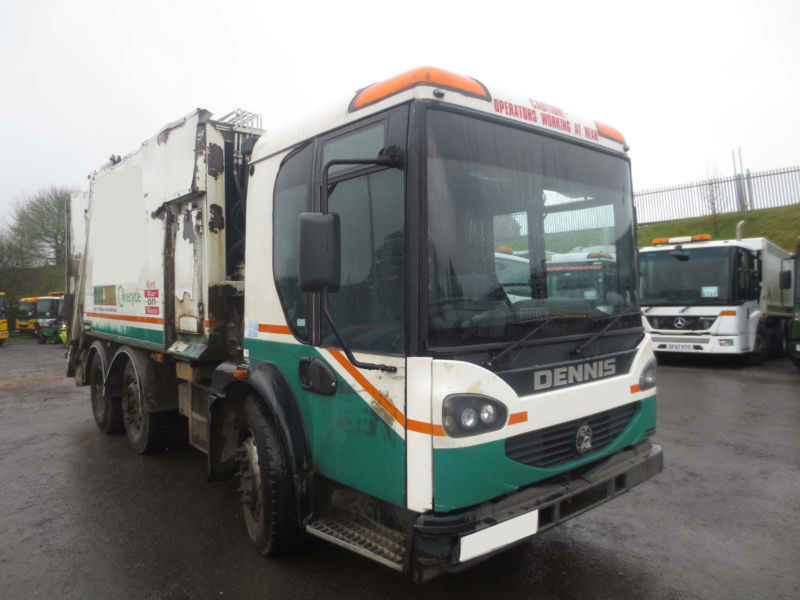 2006 - 55 - DENNIS ELITE 2 6X2 60/40 SPLIT REFUSE (GUIDE PRICE)
