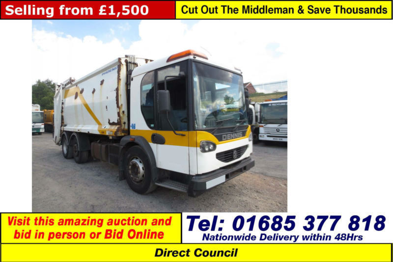 2005 - 05 - DENNIS ELITE 2 6X2 25TON AUTO PHOENIX BODY REFUSE (GUIDE PRICE)