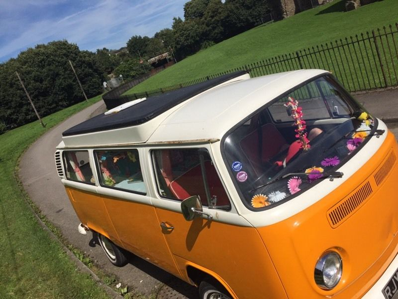 VW Campervan 1972 rare Crossover Devon pop top Brand new engine! FULL MOT (till Aug2017)