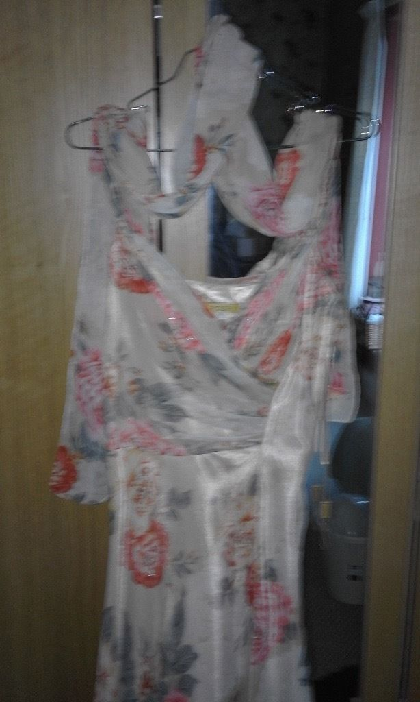 Cocktail dress and shawl as new size 14