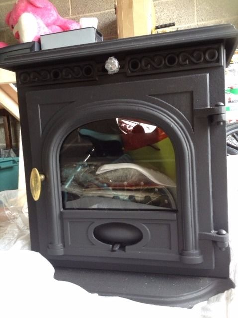 Brand New Cast Iron 6kw Woodburning Stove