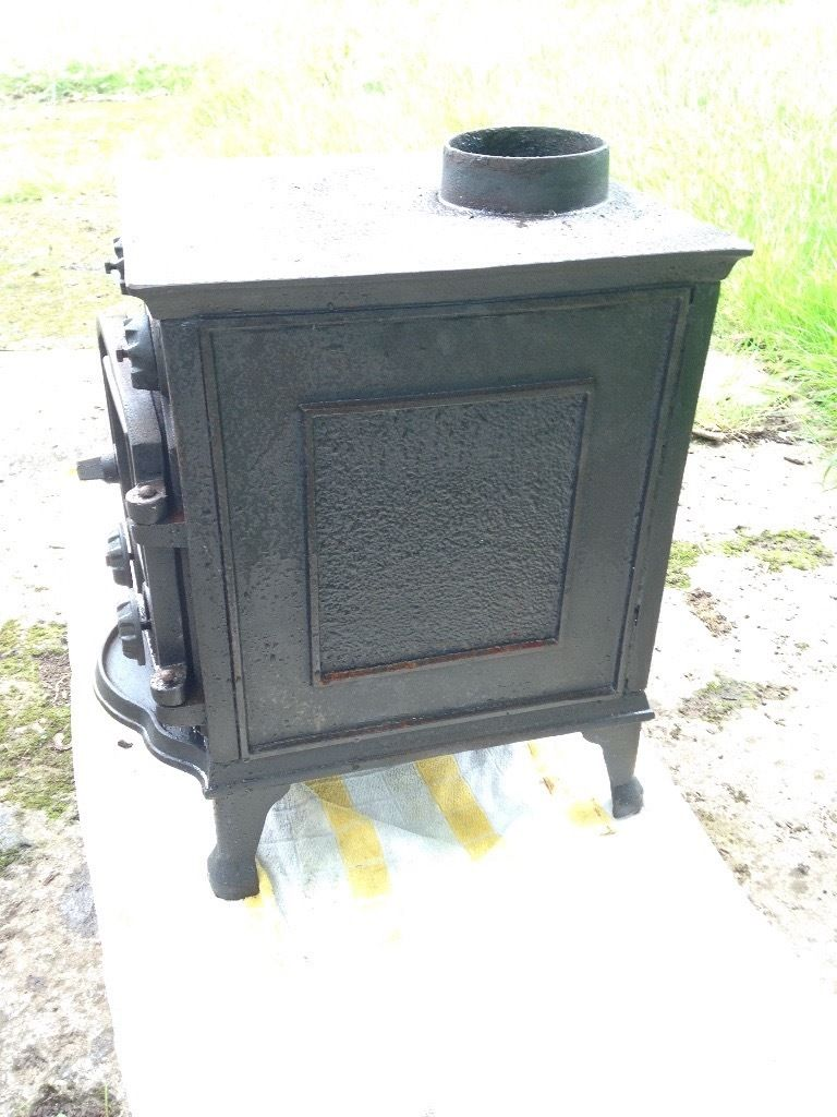 log coal fire burner