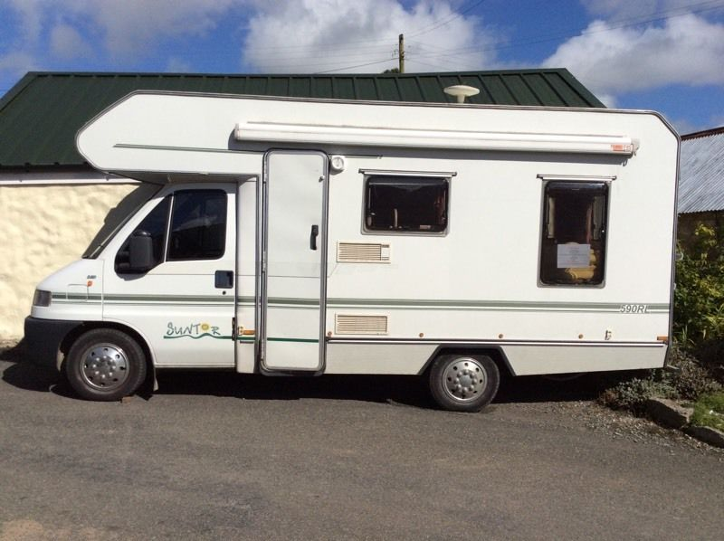 Fiat Ducato Campervan For Sale