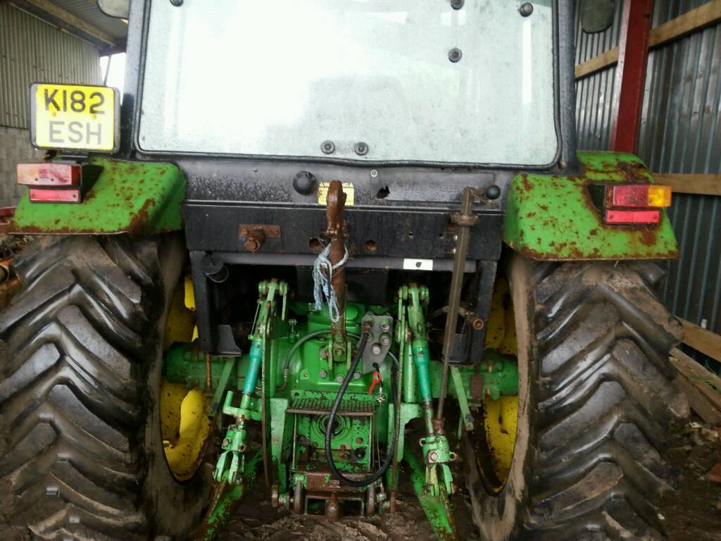 John deere 2850 high lift model