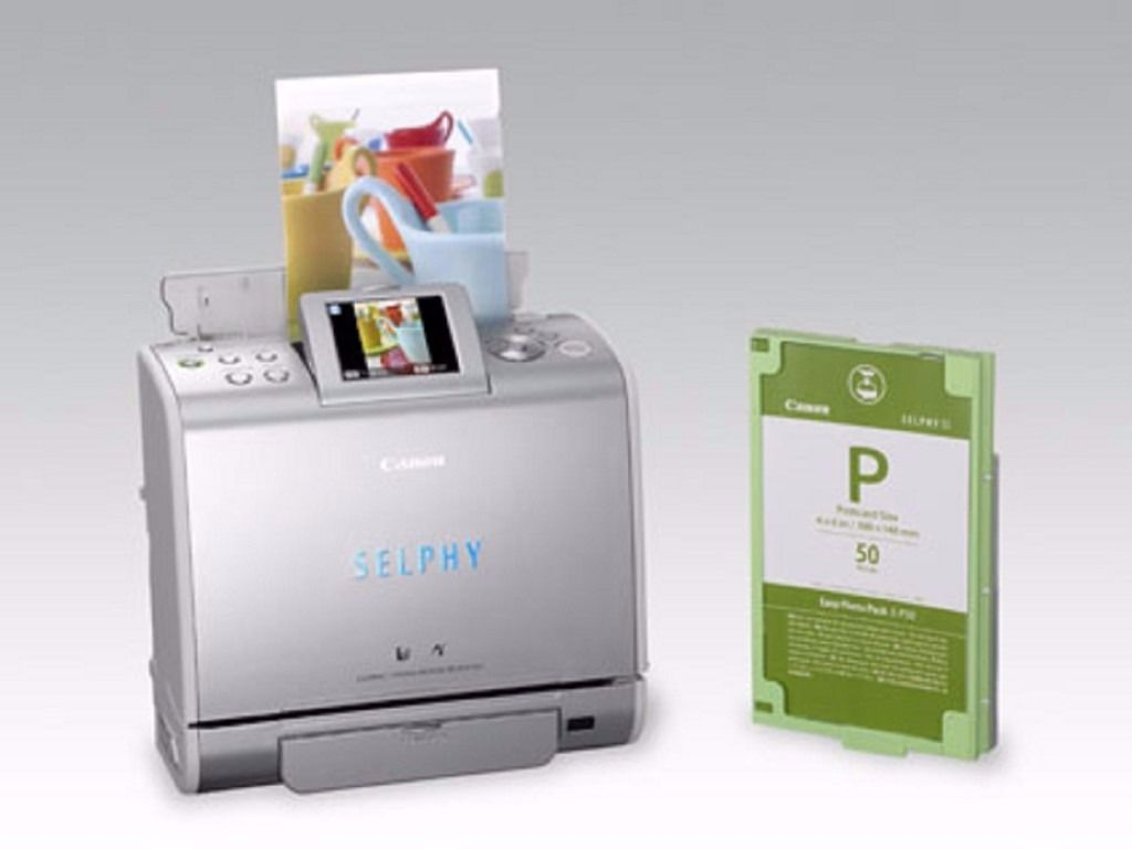 Canon Selphy ES1 Compact Photo Printer