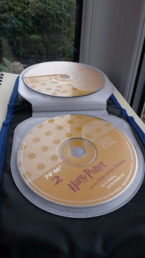 Harry Potter and the order of the Phoenix 24 disc audio book set