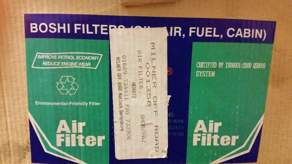 2 air filters for mitsubishi