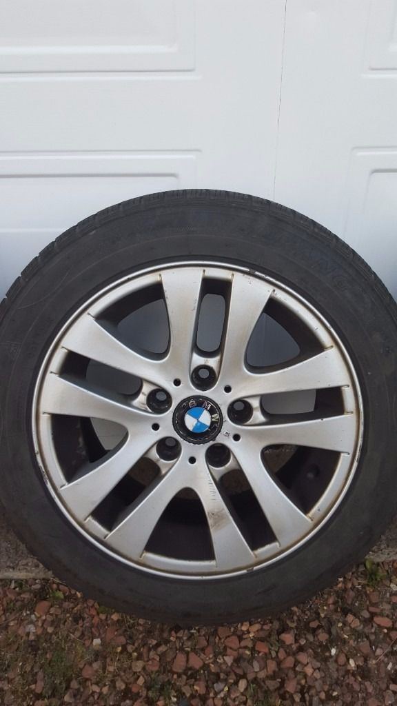 BMW 3 SERIES WINTER TYRES AND ALLOYS FOR SALE