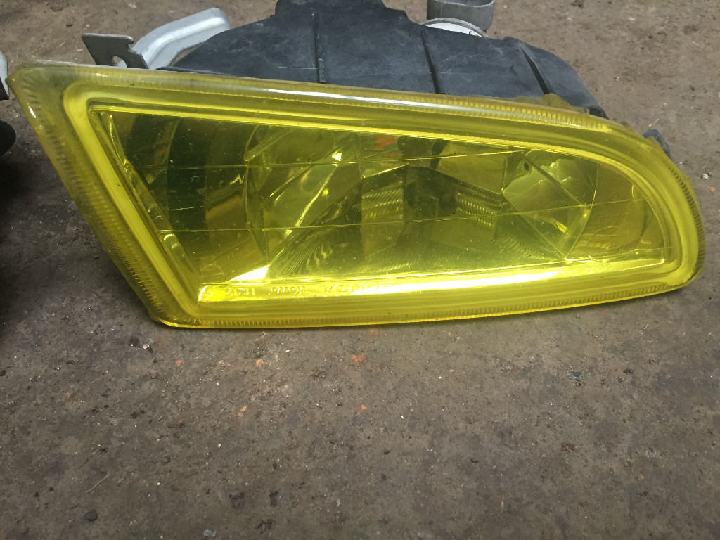 honda accord type r facelift fog lights oem ch1 h22a7 yellow 01-02
