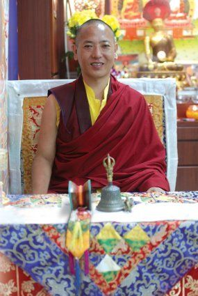 Buddhist teachings with a visiting Tibetan lama