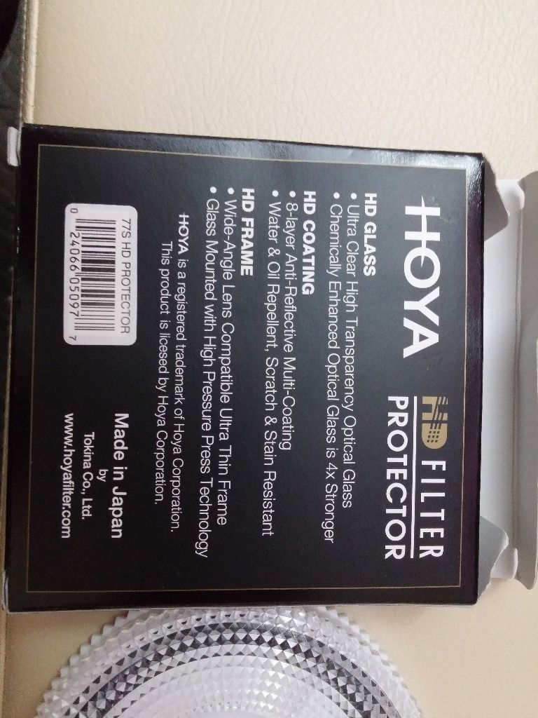 Hoya 77mm HD Digital Protector Screw-in Filter