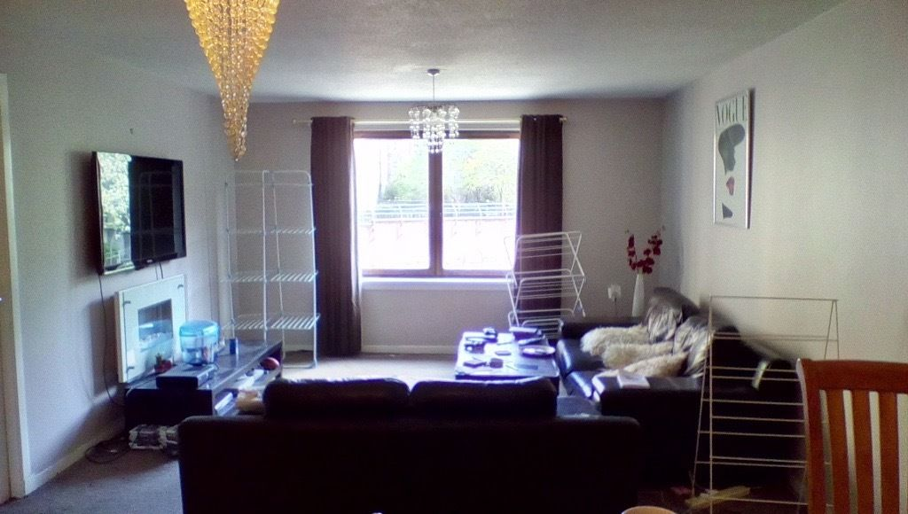 Double room available in Dalry flat
