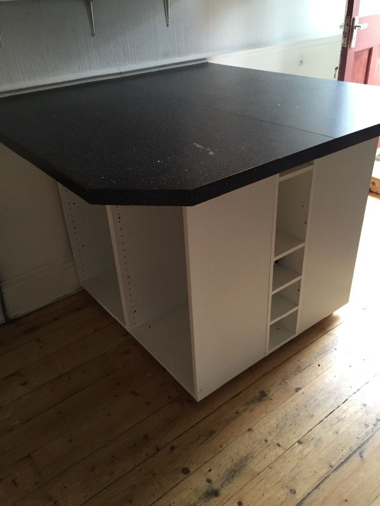 Kitchen island free - must pick up today
