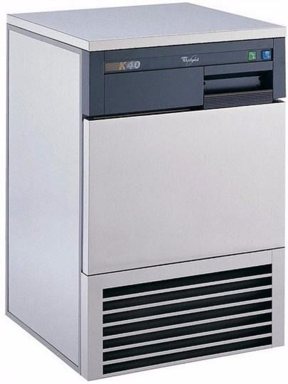 whirlpool K40 ice machine on stand for sale
