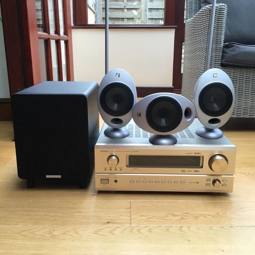 Surround sound package - amplifier, speakers and sub