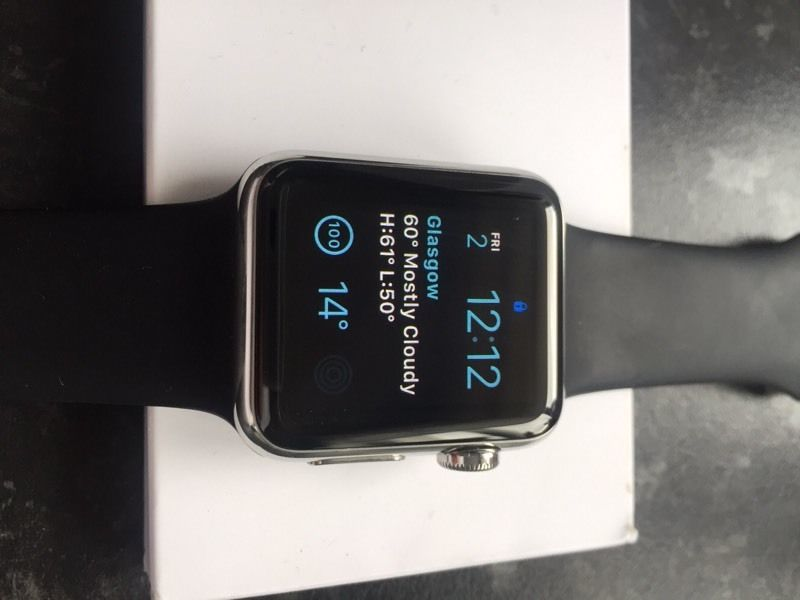 Apple Watch SS 38mm with Milanese band