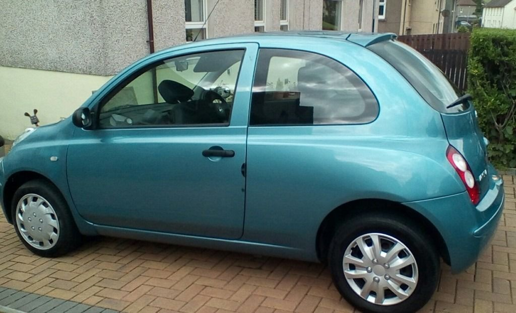 NISSAN MICRA , 2006 , DRIVES PERFECT .