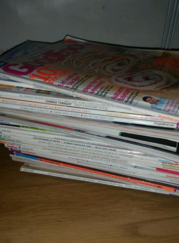 Free selection of food magazines
