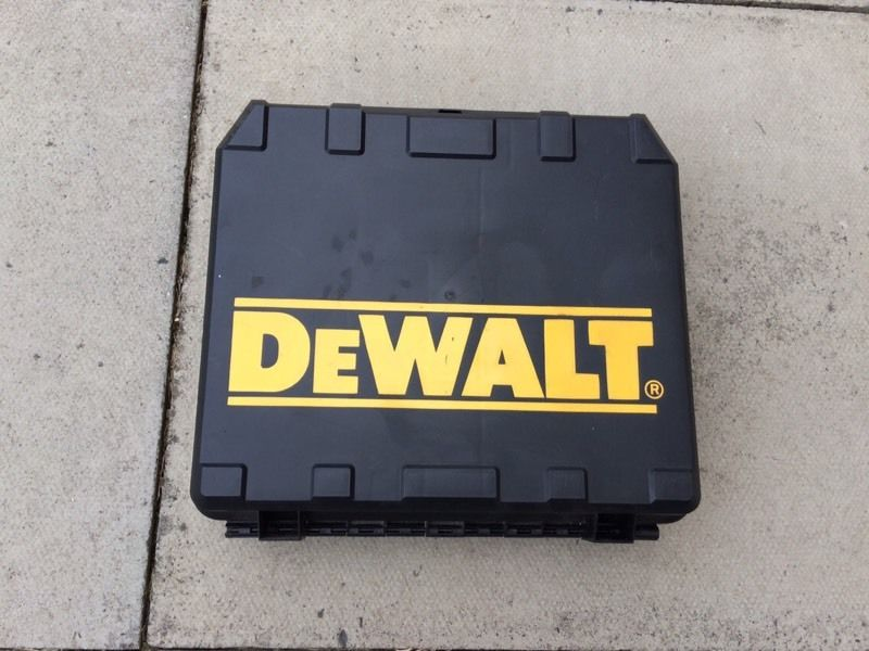 Dewalt power tool box