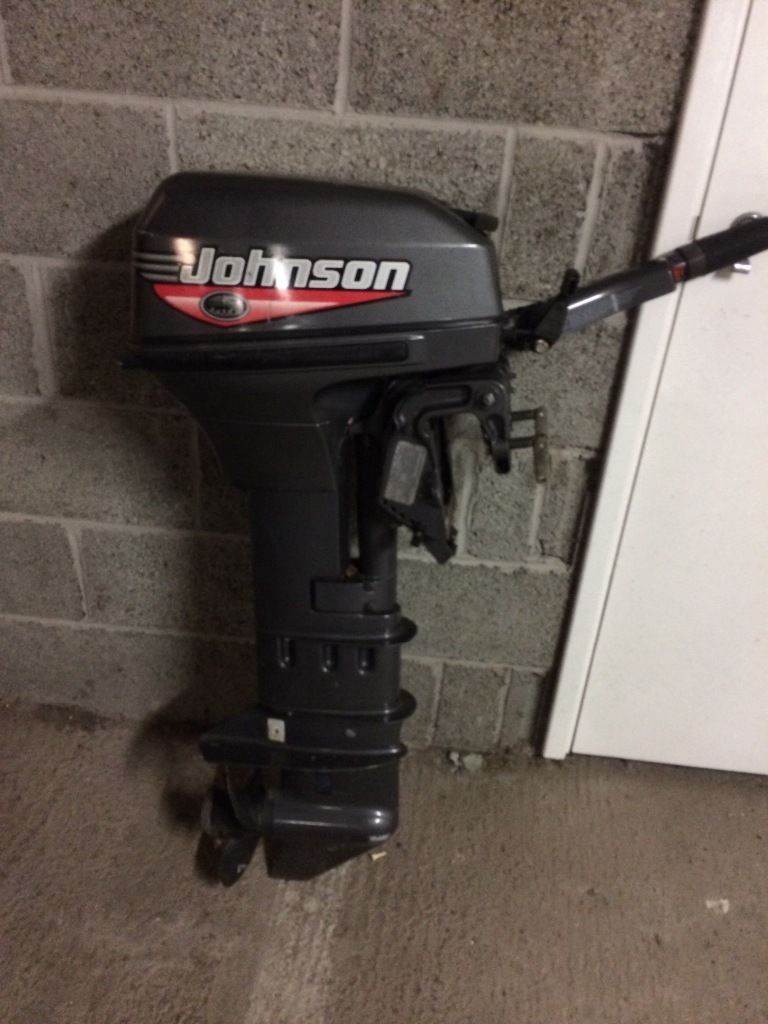 15hp Johnson outboard never run in salt water