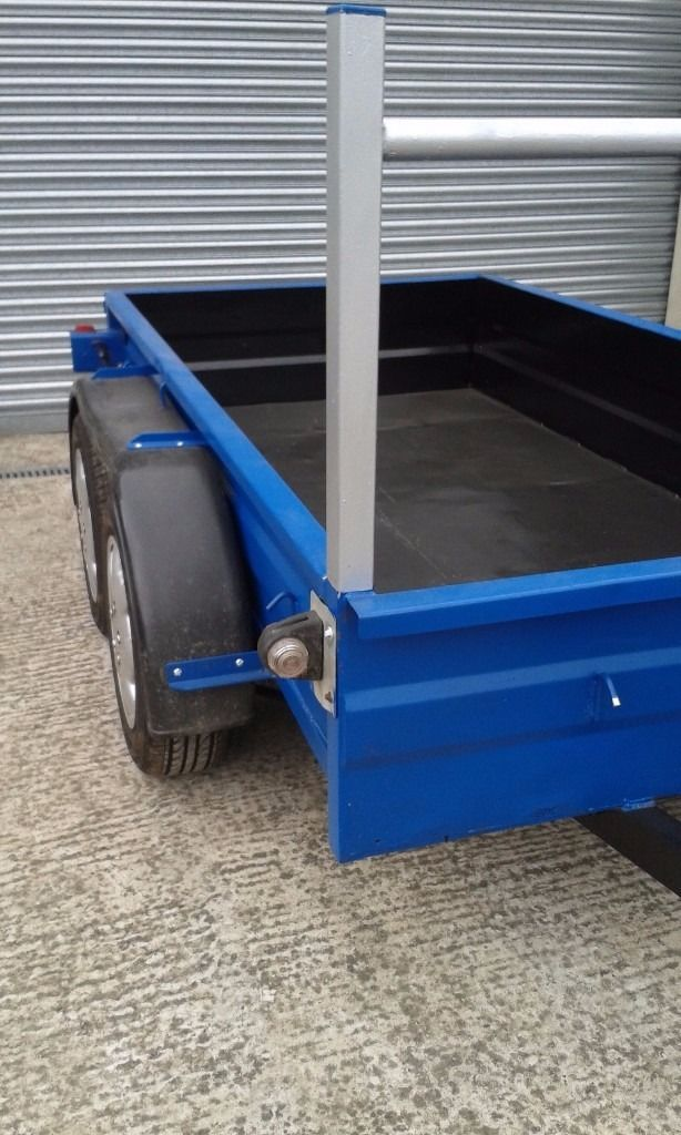 builders style trailer 8ft x 4ft