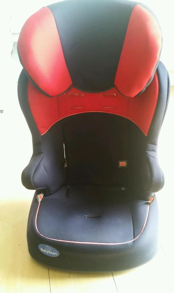Chiddingstone car seat 3+