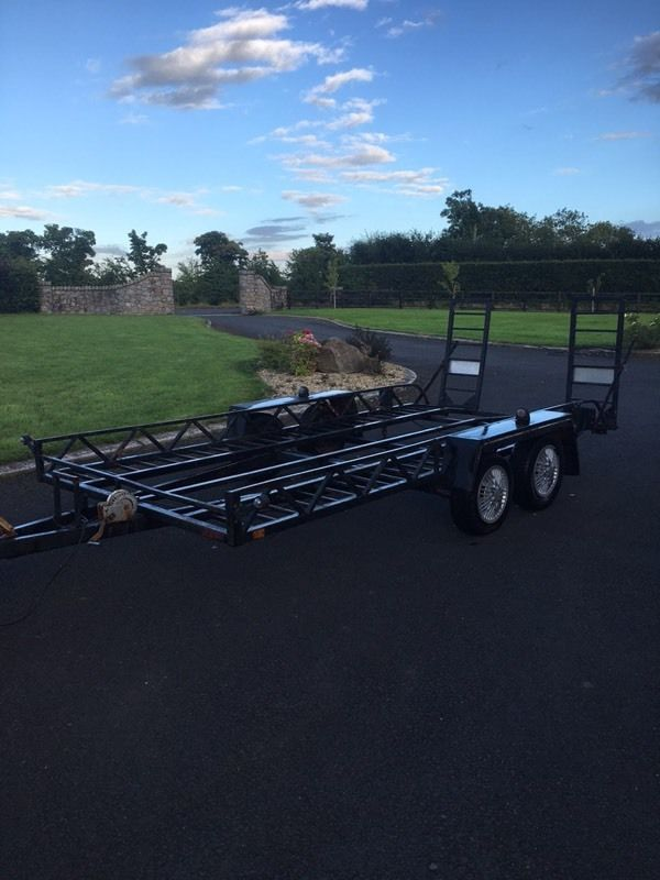 Car transporter 14ftx6ft trailer for sale