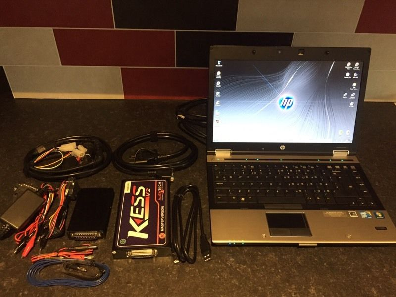 Diagnostic & remapping laptop