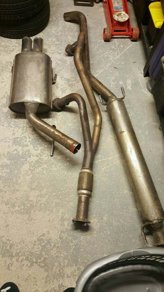 Vectra st 3000 btb exhaust