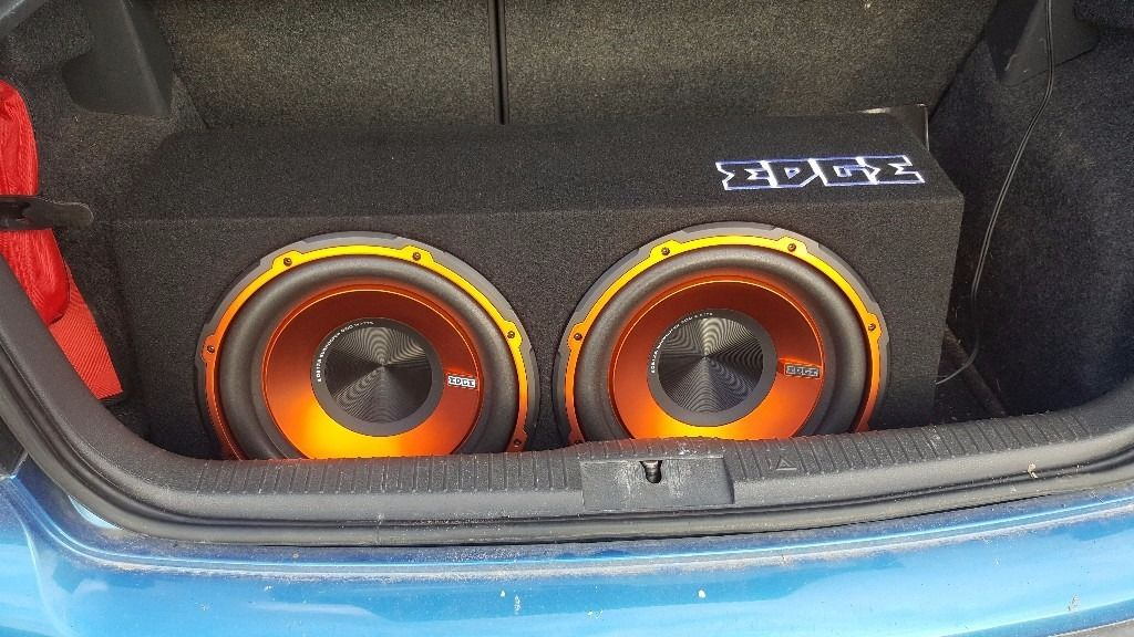 Edge car subwoofer