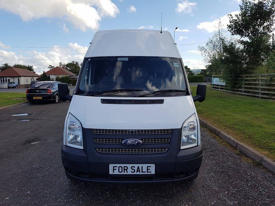 NO VAT 2013 13 FORD TRANSIT 2.2 LWB HIGHTOP RWD T350, ONE OWNER, PX WELCOME