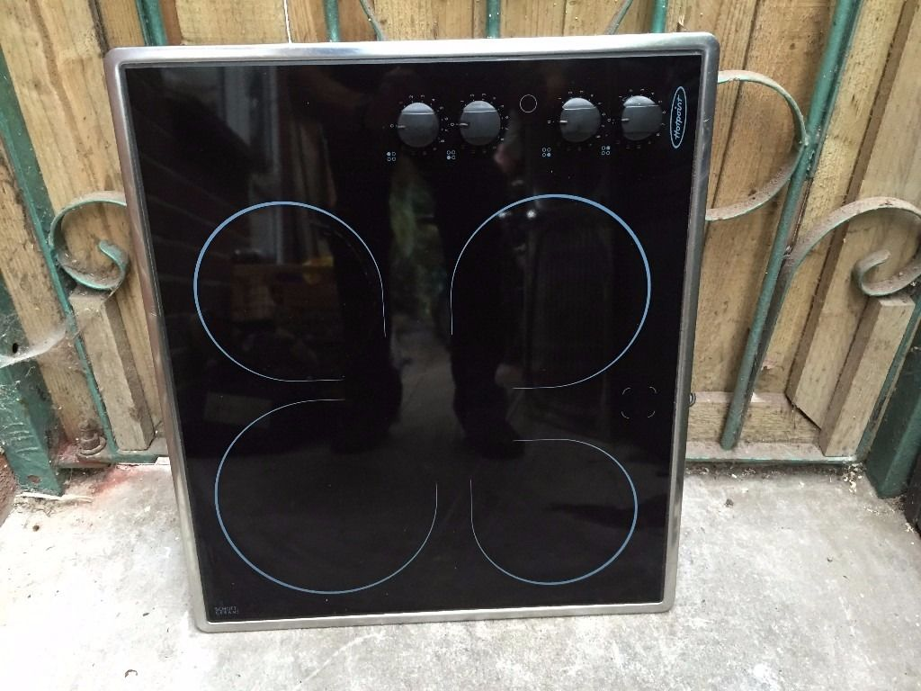 Hotpoint electric halogen hob
