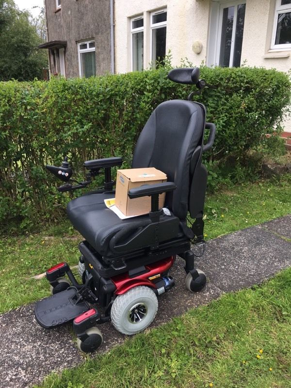 Electric Wheelchair With tilt and Lift