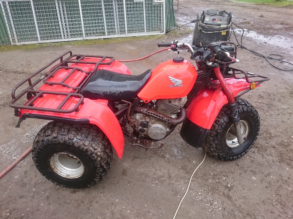 Honda Big Red Trike 250cc