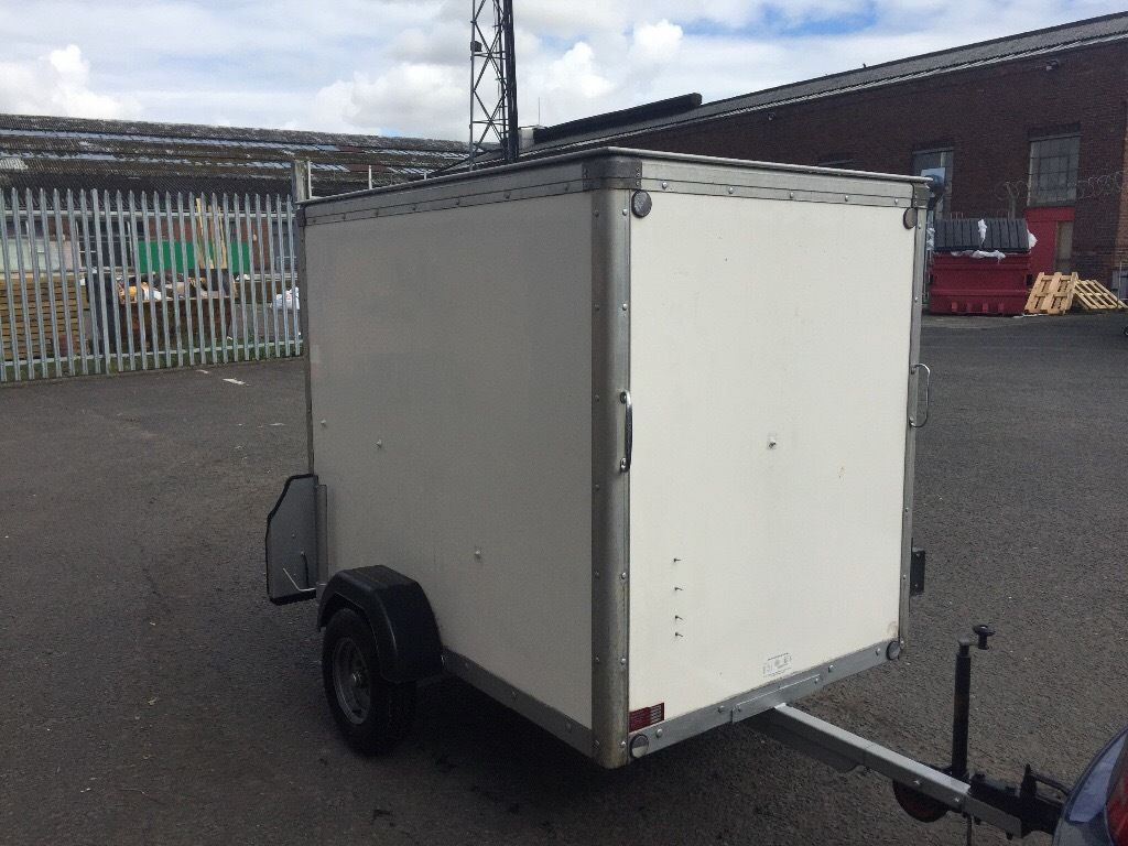 Box Trailer 6x4 Roller Shutter door