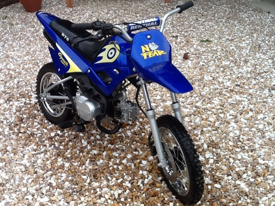 PY90 kids motocross bike