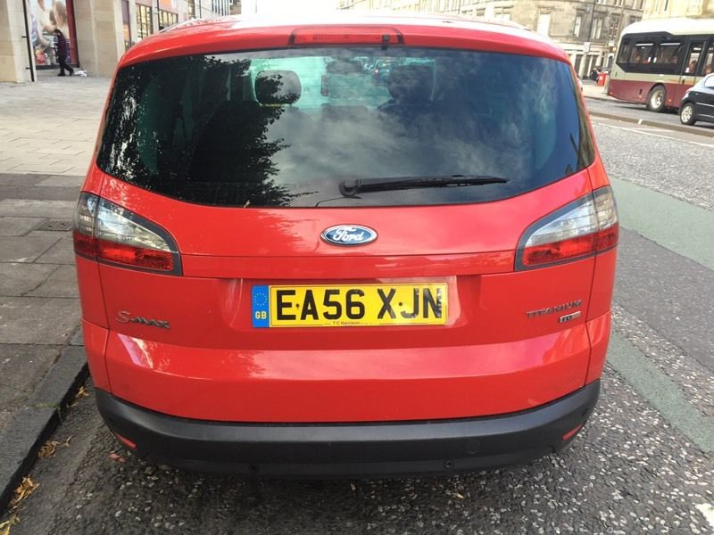 FORD S-MAX 2.0 TDCI TITANIUM 5 DOOR 7 SEATER 2 Owners, Full service history MOT 19/12/2016