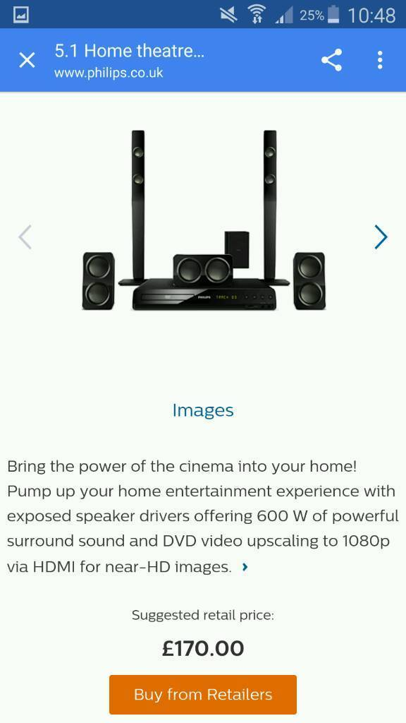Philips Home Surround Sound
