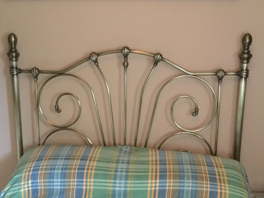 JESSICA ANTIQUE BRASS HEADBOARD