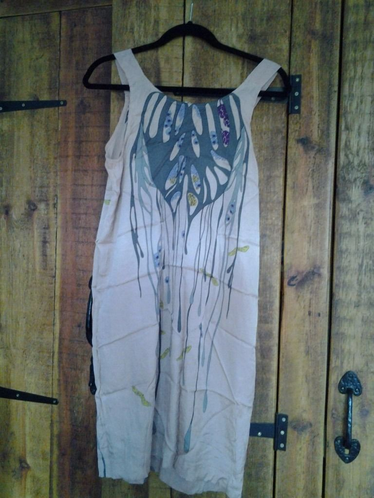 Anthropologie Silk Summer Dress size 10