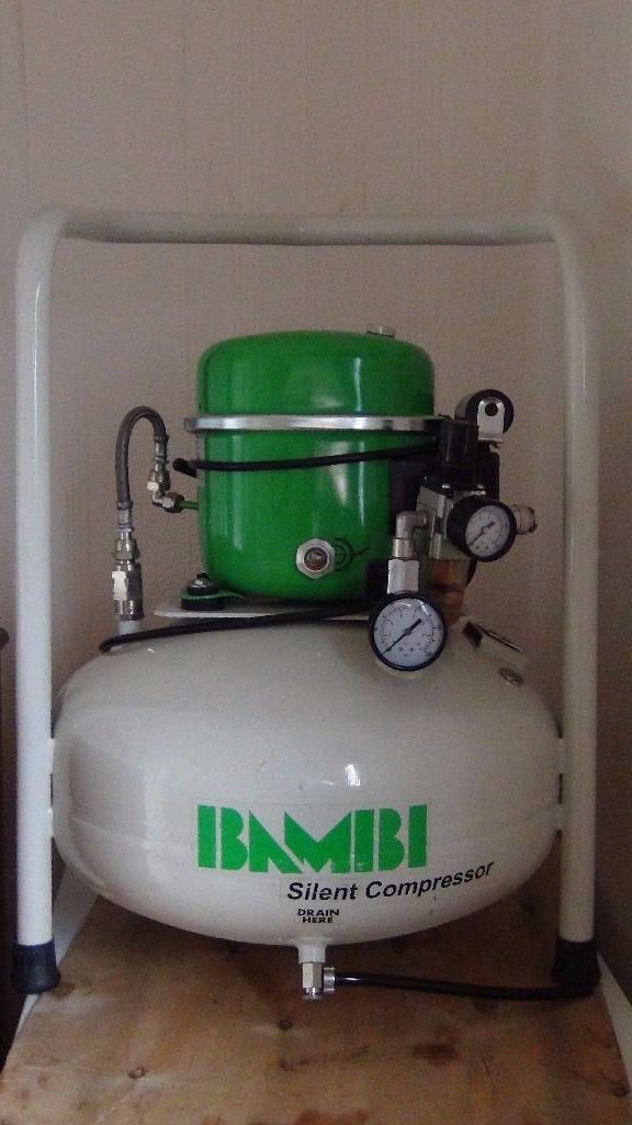 Bambi silent compressor 24ltr/as new