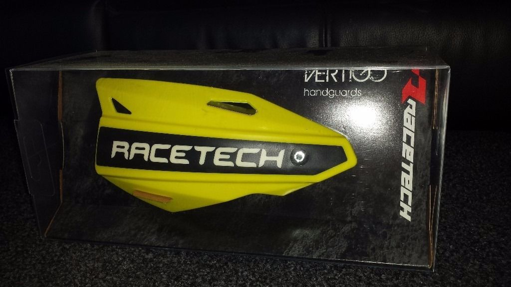 Race tech vertigo hand guards motocross enduro bikes