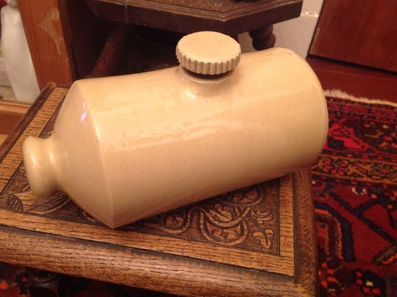 Antique 2 pint Pearsons hot water bottle
