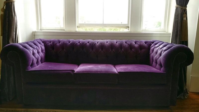 Chesterfield Sofa set with sofa bed