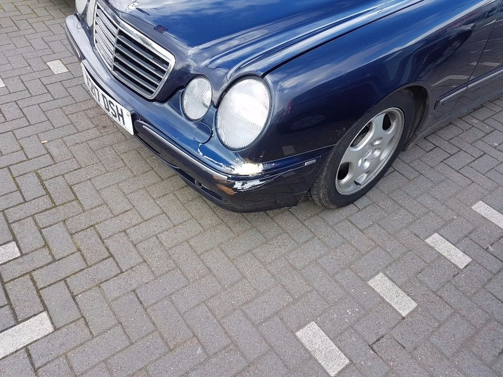 Mercedes E240 with mot and service history