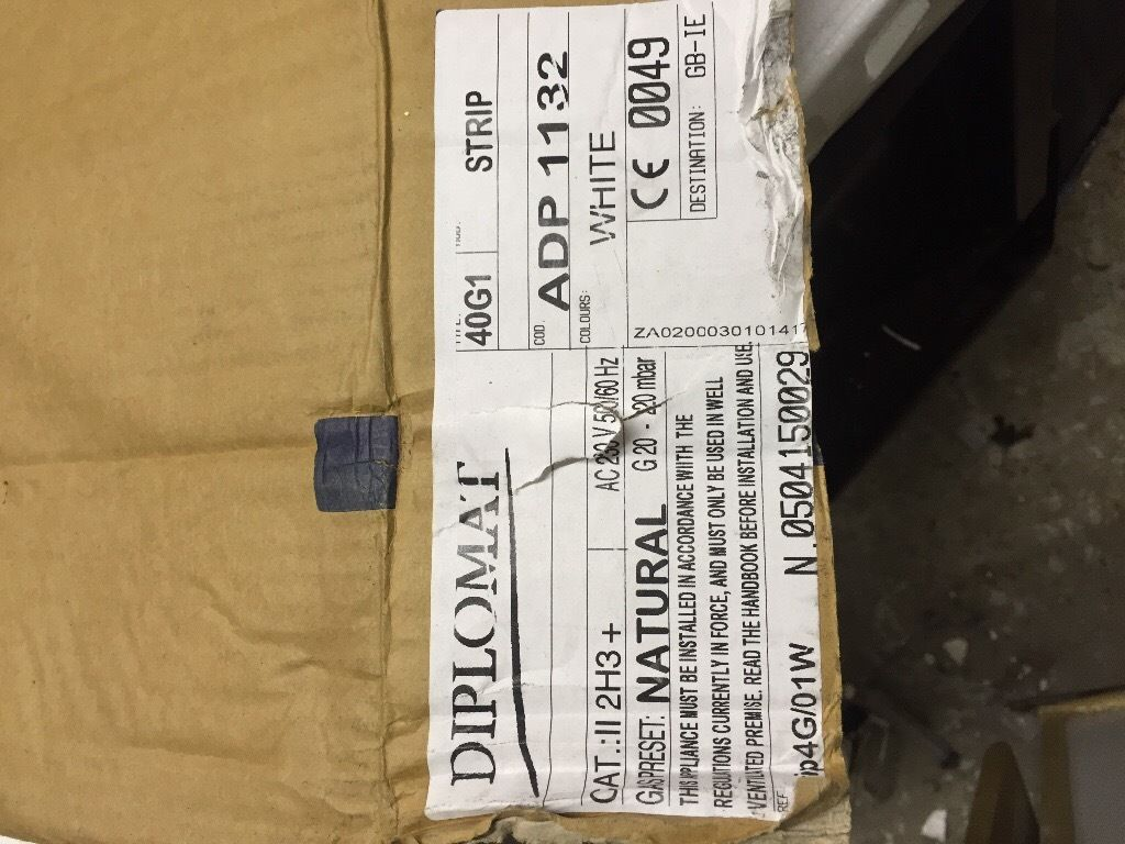 Brand new boxes Diplomat ADP1132 gas hob