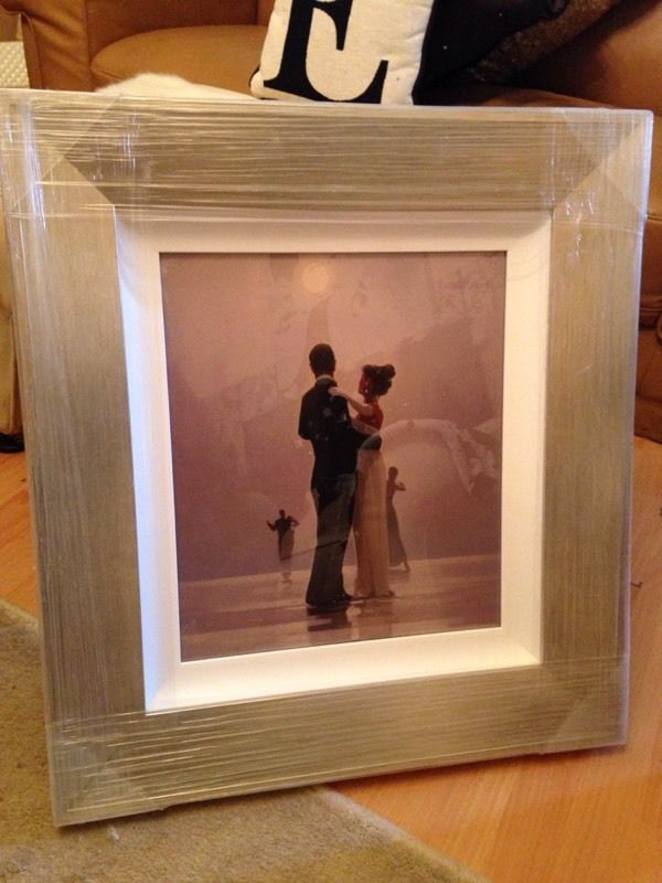 Jack Vetriano, Dance me to the end of love, brand new, framed.
