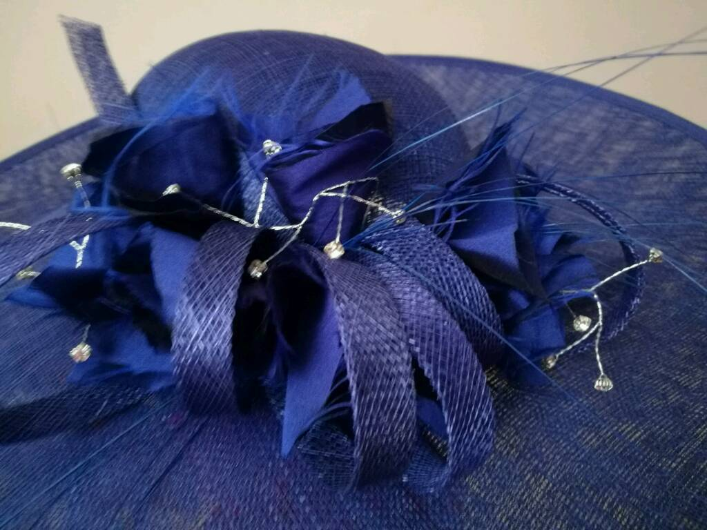 Beautiful Evelyn Anne saucer hat