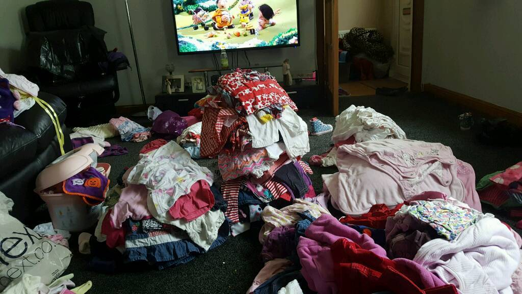 Huge bundle of baby girl clothes